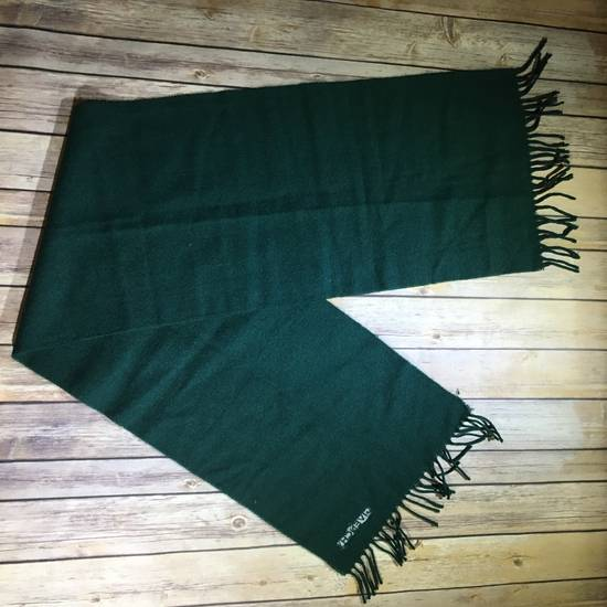 Givenchy Vintage Givenchy Pure New Wool Forest Green Scarf - Read Description Size ONE SIZE - 3