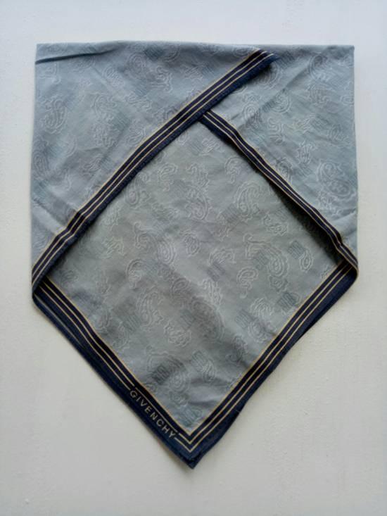 Givenchy Handky GIVENCHY monogram flower design Handkerchief bandana Size ONE SIZE