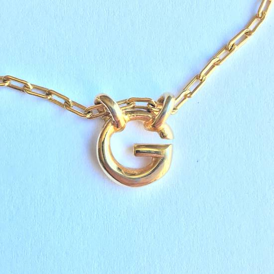 Givenchy Gold Logo Necklace Size ONE SIZE - 1