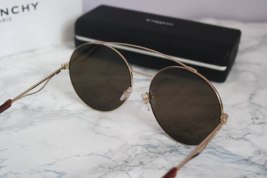 Givenchy NEW Givenchy 7048/S Oversized Round Aviator Sunglasses in Gold/Brown Size ONE SIZE - 8