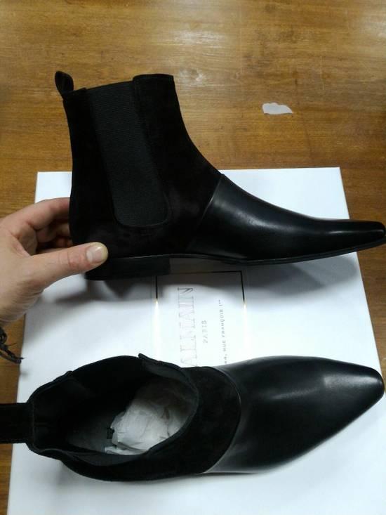 Balmain 40-41-42 Contrast Suede & Leather Boot Size US 9 / EU 42 - 1