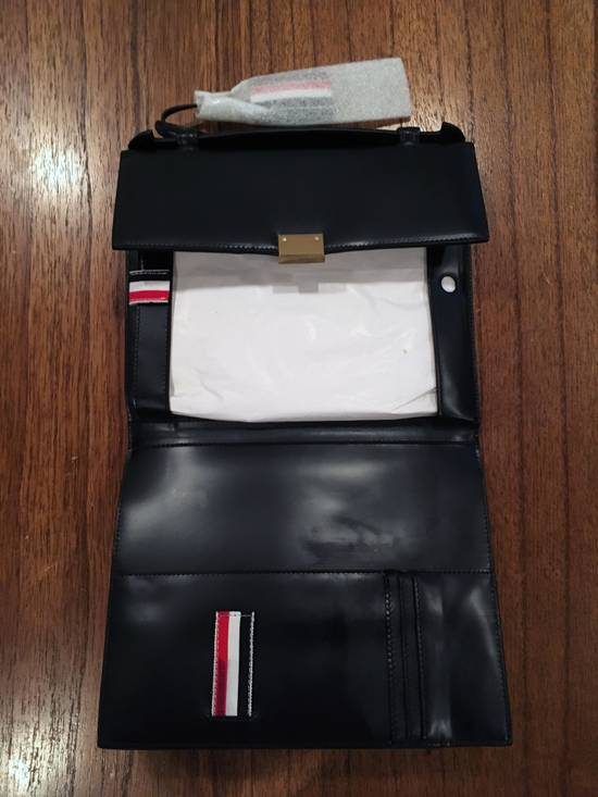 Thom Browne Thom Browne Leather Tablet Case Size ONE SIZE - 4