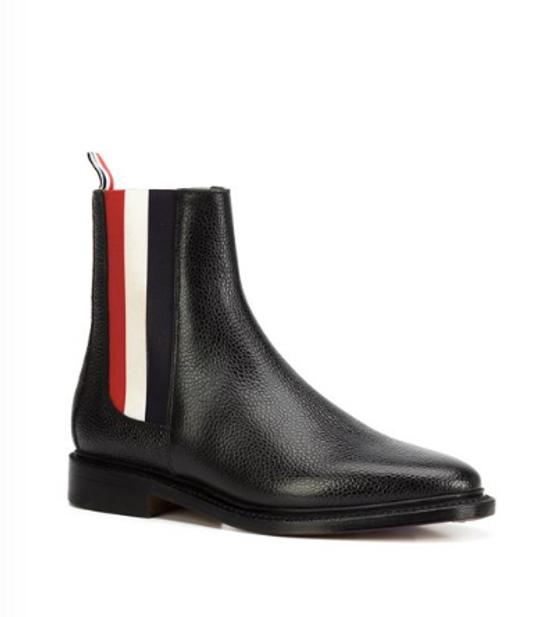 Thom Browne Tricolor Panel Chelsea Boots Size US 9 / EU 42