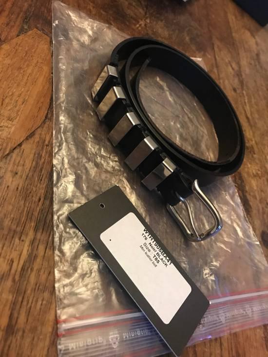 Balmain Decarnin-era 2010FW Main belt (silver, 85 size) Size 30 - 1