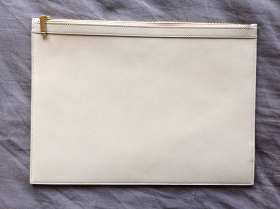 Thom Browne NEW! Nubuck Med Zipper Document Holder (A4) Size ONE SIZE - 1