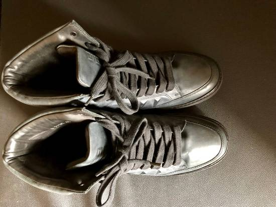 Givenchy Givenchy by Riccardo Tisci 2010 Triple black covered studs sneakers Size US 7 / EU 40 - 6