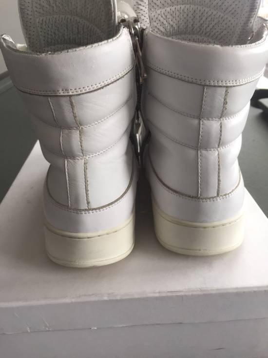Balmain White Sneakers Size US 8 / EU 41 - 3