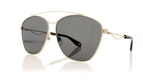 Givenchy NEW Givenchy 7049/S Oversized Double Bridge Aviator Sunglasses Size ONE SIZE - 2