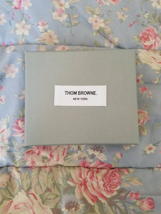 Thom Browne Tennis-Racket Leather Card Case Size ONE SIZE - 4