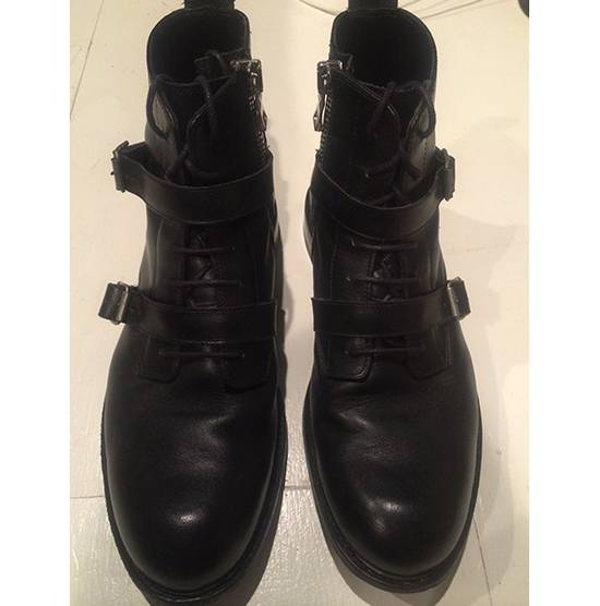 Balmain Buckled Crop Boot Size US 10 / EU 43 - 2