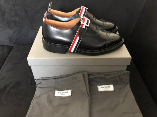Thom Browne thom browne black pebble grain leather size 9.5US Size US 9.5 / EU 42-43 - 1