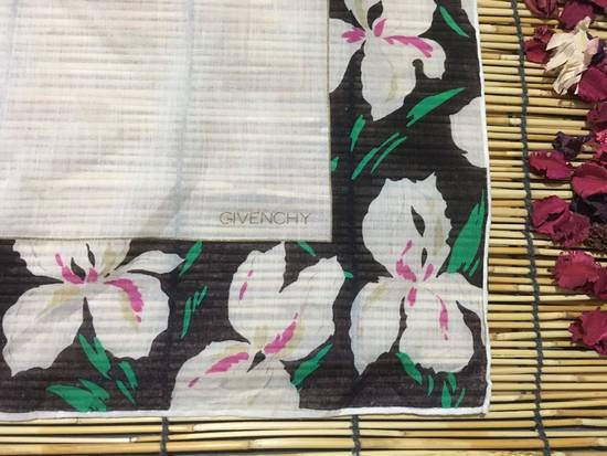 Givenchy Givenchy Handkerchiefs, Floral Handkerchiefs, White Color Handkerchiefs, Bandana Women Size ONE SIZE - 3