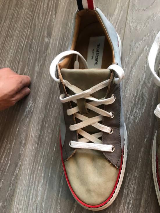 Thom Browne Multi Color Calf Leather Sneaker Size US 8 / EU 41 - 9