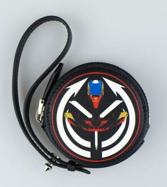 Givenchy Men's Multi-Color Leather Tribal Print Coin Pouch Size ONE SIZE - 1