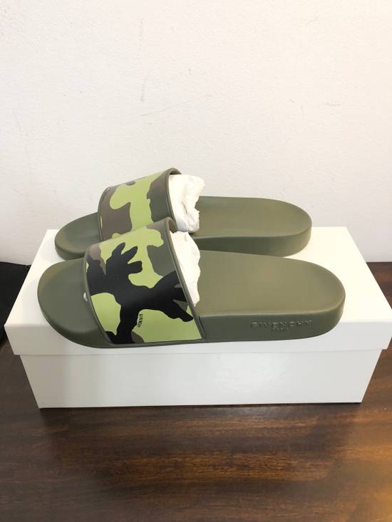 Givenchy New Givenchy Camo Rubber Slides Size US 9 / EU 42 - 1
