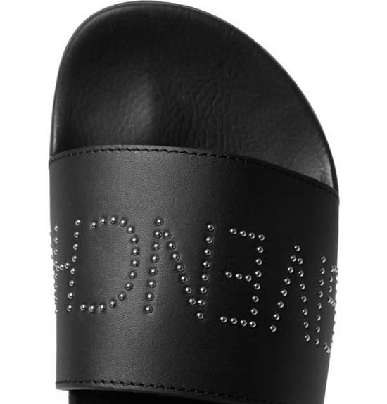Givenchy studded leather slides black sandals Size US 11 / EU 44 - 2