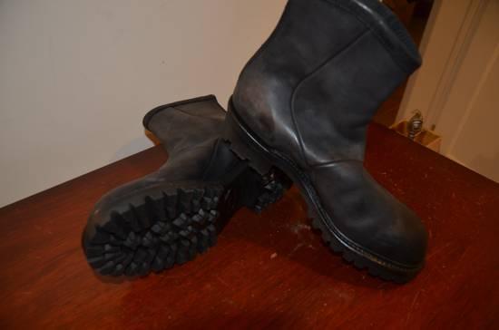 Julius Engineer Boot. Back-zip. Vibram Sole. Brand new. Size US 9 / EU 42 - 4