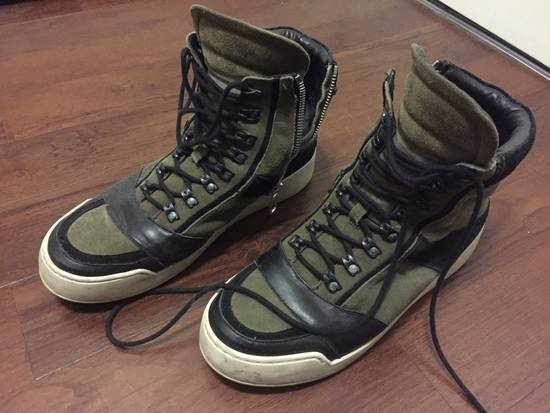 Balmain HM Balmain Hi Top Sneaker Size US 11 / EU 44