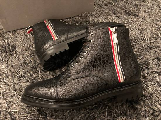 Thom Browne Black Leather Boots Brand New Size Us10 Size US 10 / EU 43 - 1