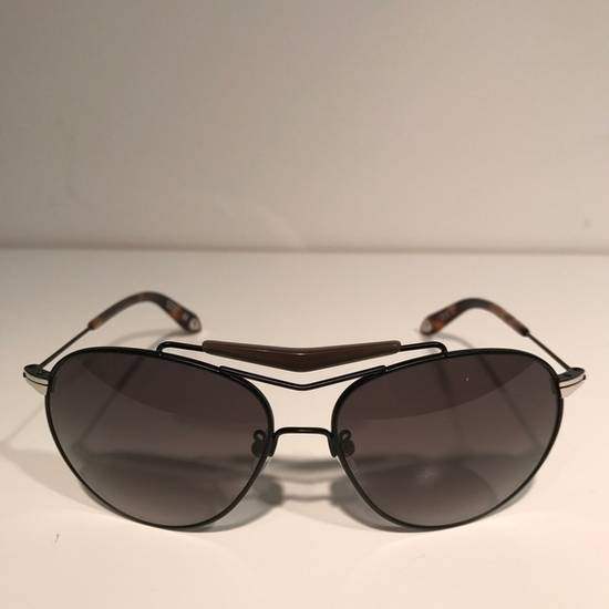 Givenchy Givenchy Black Aviator Sunglasses Size ONE SIZE