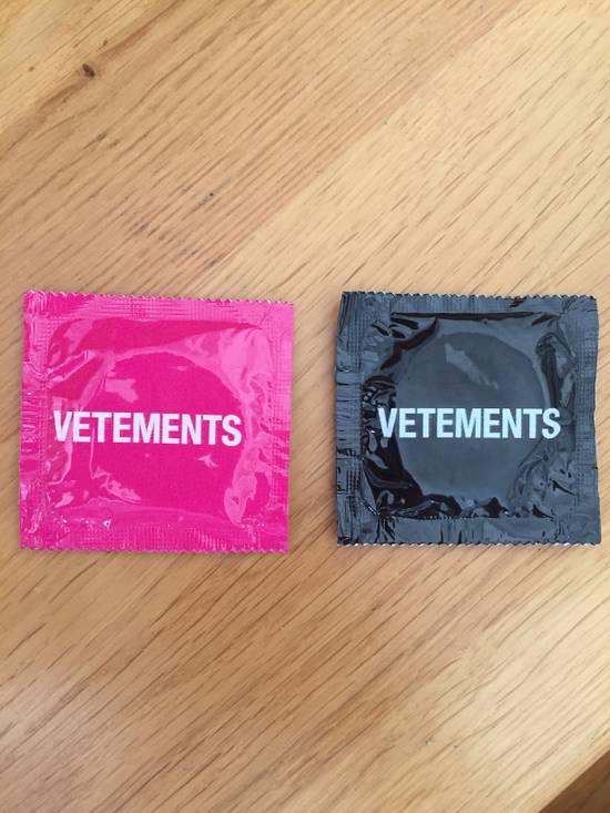 Vetements Vetements condoms Size ONE SIZE