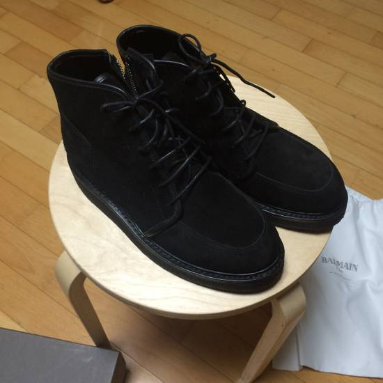Balmain 13fw collection suede boots Size US 7 / EU 40 - 3
