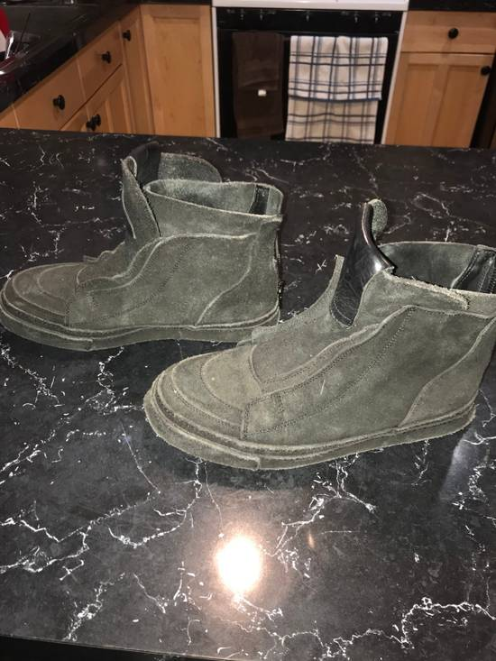 Julius Reverse Leather High Tops Size US 9 / EU 42 - 2