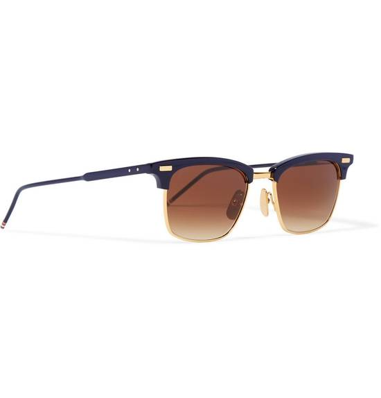 Thom Browne D-Frame Sunglasses TB 711 Size ONE SIZE - 3