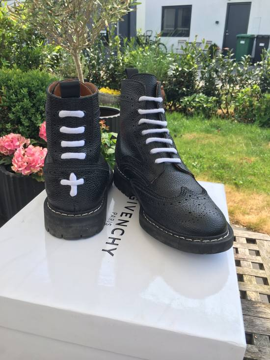 Givenchy Commando Leather Runway Size US 8 / EU 41