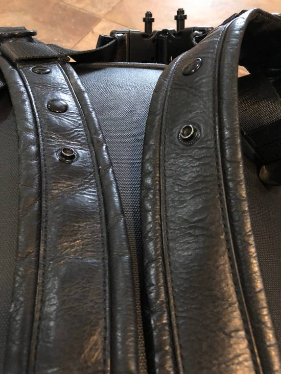Givenchy Black On Black Leather Backpack With Metalware Size ONE SIZE - 8