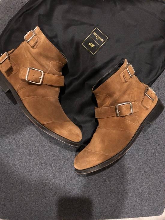 Balmain Brown Suede Boots Size US 8.5 / EU 41-42