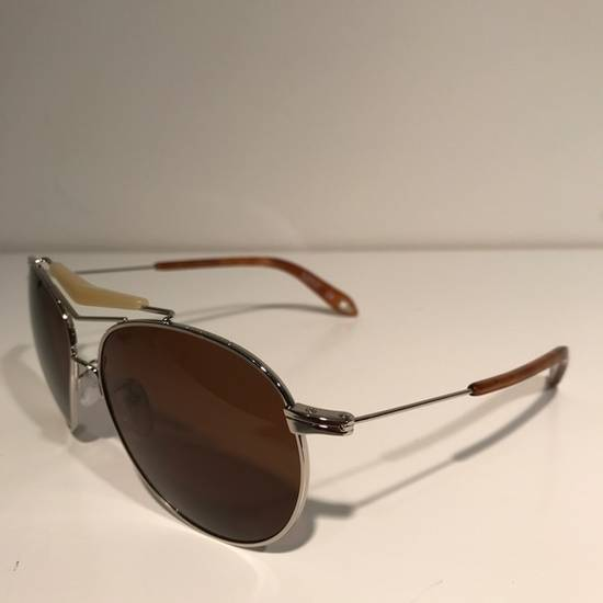 Givenchy Givenchy Silver Aviator Sunglasses Size ONE SIZE - 1