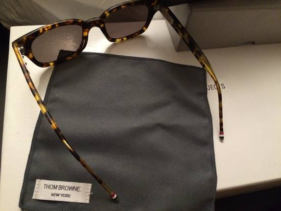 Thom Browne TB-401-B-T-TKT-49.5 sunglasses square frame Size ONE SIZE - 2