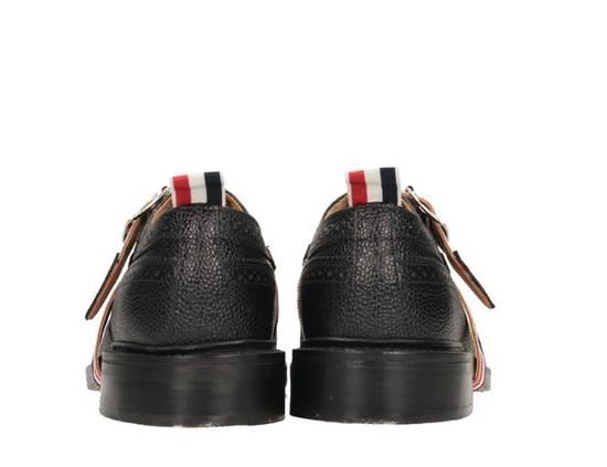 Thom Browne Brand New Thom Browne Classic Stripe Leather Lace up Size US 6 / EU 39 - 4
