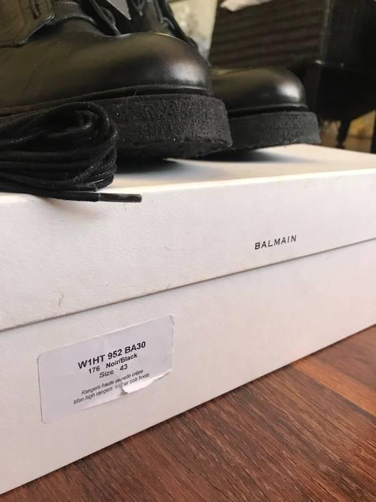 "Balmain Ranger Combat Boot ""LAST DROP"" Size US 10 / EU 43 - 8"