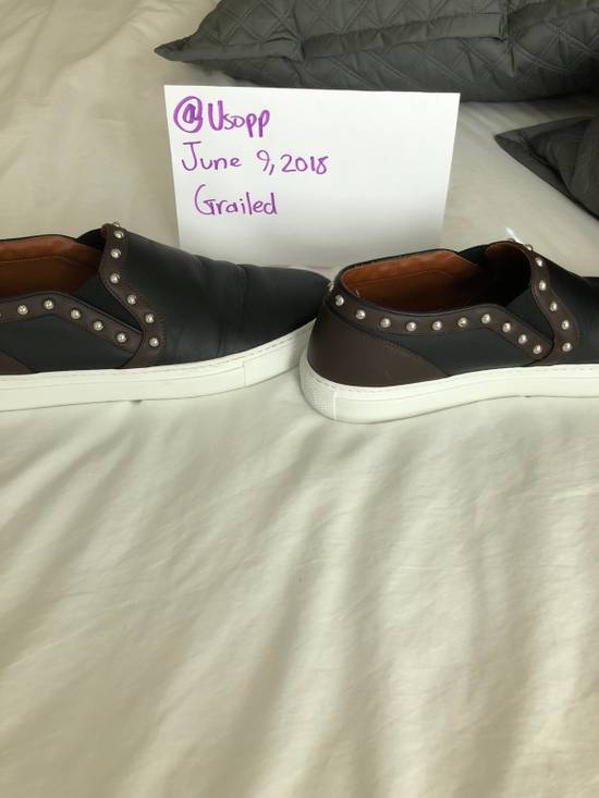 Givenchy Givenchy Studded Leather Slip Ons Size US 11 / EU 44 - 4
