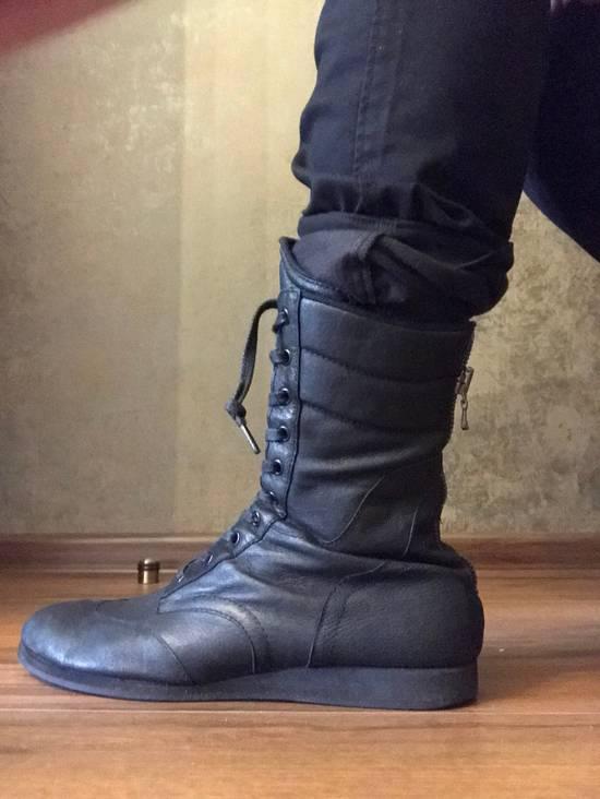 Julius Backzip Black Pigskin Boxing Boots Size US 10 / EU 43 - 5