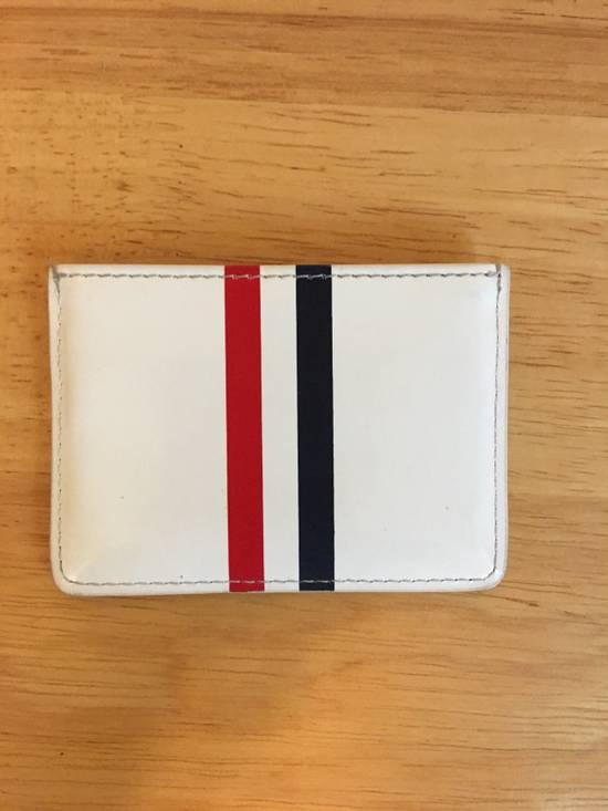 Thom Browne Stripe Card Holder Size ONE SIZE - 1