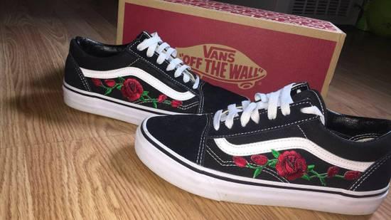 Vans Custom Embroidered Rose Vans Size US 10 / EU 43