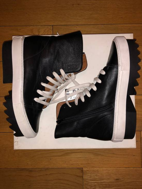 Givenchy Givenchy Leather Platform Sneaker Boot Size US 7 / EU 40