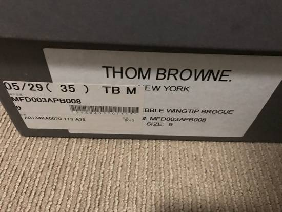 Thom Browne Long Wing Brogues Size US 9 / EU 42 - 4