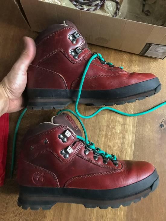 Timberland X Supreme Euro Hiker Hiking Boots size US9.5