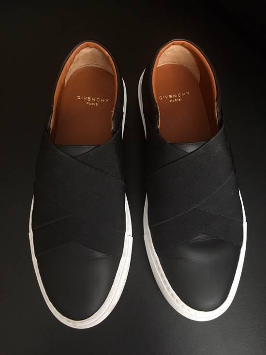 Givenchy Cross Strap Leather Slip-on Sneaker Size US 6 / EU 39 - 2