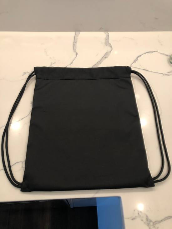 Thom Browne Drawstring Bag In Black Size ONE SIZE - 1