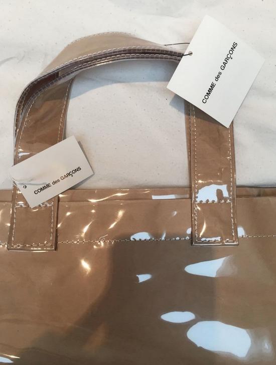 Comme des Garcons PVC Brown Paper Bag Tote Bag Size ONE SIZE - 2