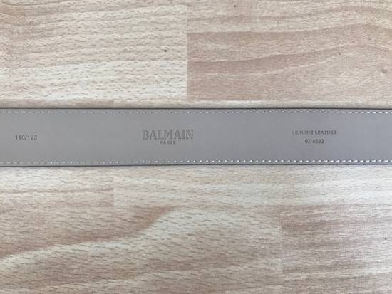 Balmain Balmain Size 34 Leather Belt Size 34 - 6