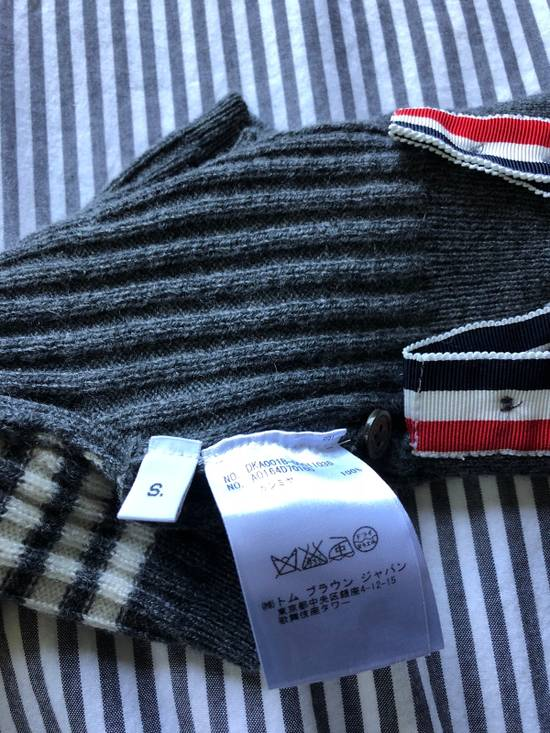 Thom Browne Hector Rib Knit Cashmere Dog Sweater Size ONE SIZE - 3