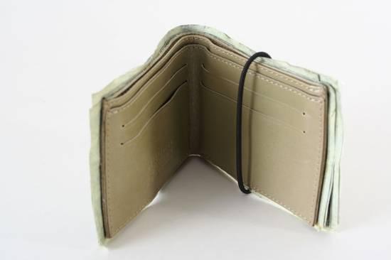 Maison Margiela rare MAISON MARTIN MARGIELA $11 dollar bill elastic band bifold leather wallet Size ONE SIZE - 2