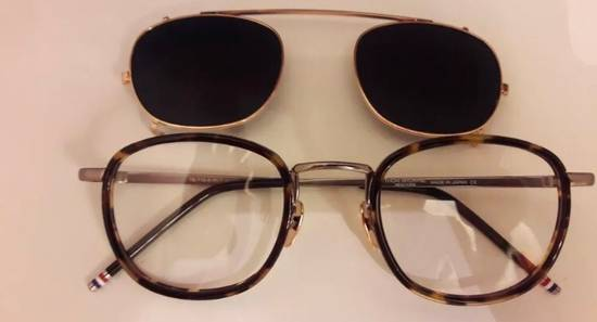 Thom Browne TB-710-A-WLT Eyeglass With Clip Size ONE SIZE - 1