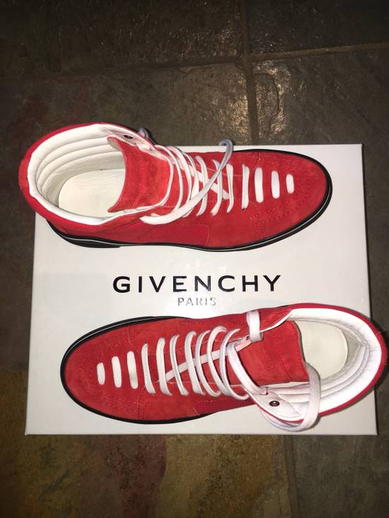 Givenchy Red Givenchy High Tops Size US 7.5 / EU 40-41 - 7